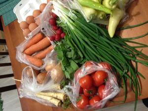 5000 Ft zöldségekben