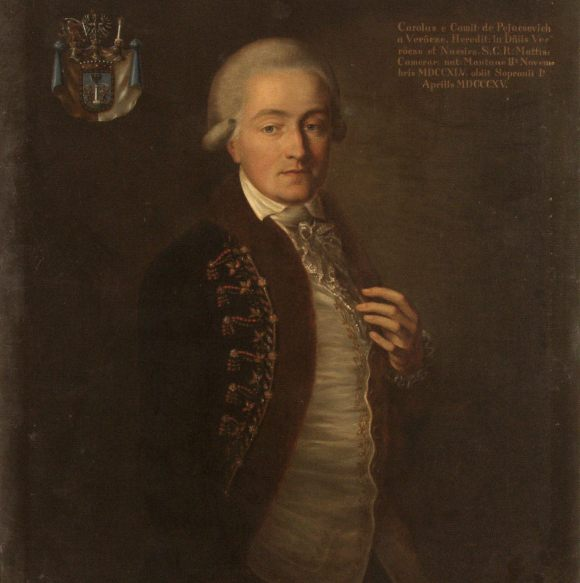 Pejachevich Károly portré