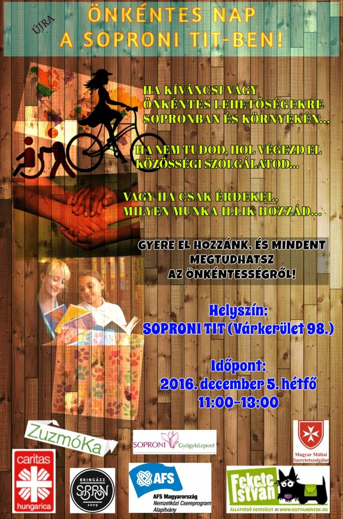 Soproni TIT Önkéntes Nap