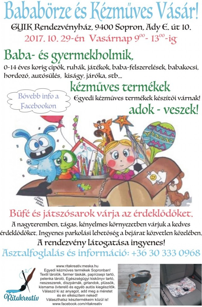 Börze plakát 20171029
