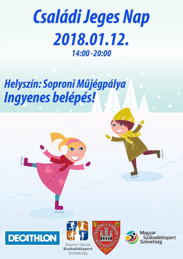 2018 Családi Jeges Nap Plakát