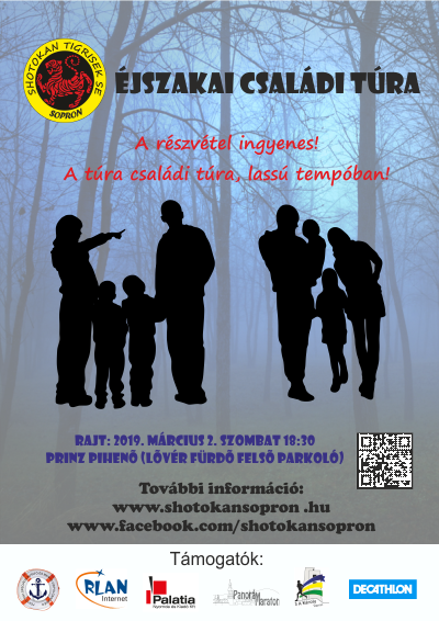 45cd1d8114 Indulás 18.30 órakor. A túra 5km-es távján ingyenesen részt vehet, aki  szeretne egy kellemes esti sétát tenni az sötét erdőben.