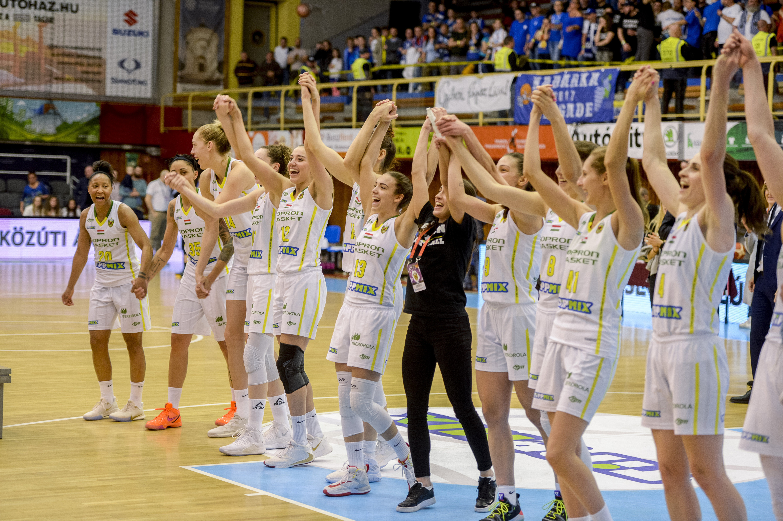 Nõi kosárlabda Magyar Kupa - Sopron Basket-ZTE NKK