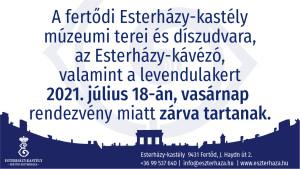 2021_0718_rendezveny_miatt_zarva_a_fertodi_Esterhazy_kastely
